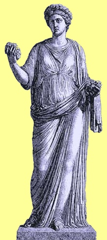 Peter Marianne Bonenberger online nature education class: Roman goddess flora, for all green life on Earth