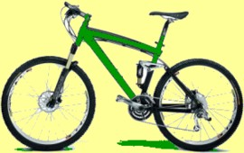 Conservation education online: Riding a bicycle is good for your health, saves gasoline, reduces air pollution, saves money