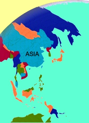 earth maps of Asia, map of asia, countries of asia map, atlas asia, asia maps