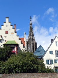 the Muenster in Ulm was built 700 years ago, art to praise the Lord, art to impress people, art to show the power of this community