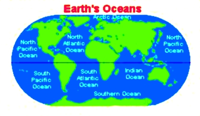 Water Quiz How Much Of Earth Is Covered By Water - All oceans on earth