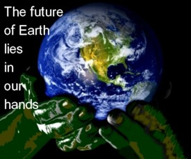 the future of earth lies in our hands. Help BSB to protect earth for the next generation