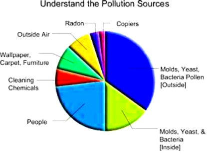BSB science explains many pollution sources, from fossil fuel burning, to man made chemicals, fertilizers, pesticides, trash incineration. Learning in science based online classes helps going green, with clean water, healthy air, less severe weather