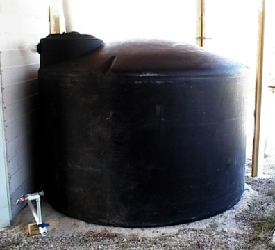 collecting and storing of rainwater reduces erosion, rainwater tanks save money, save electricity, reduce air pollution