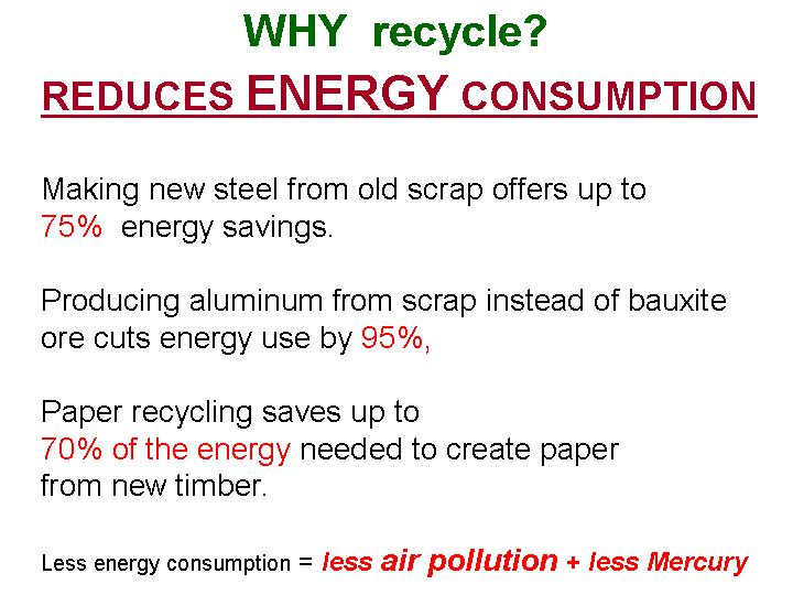 reduce, reuse, recycle, for healthy air, for a safer future of our children
