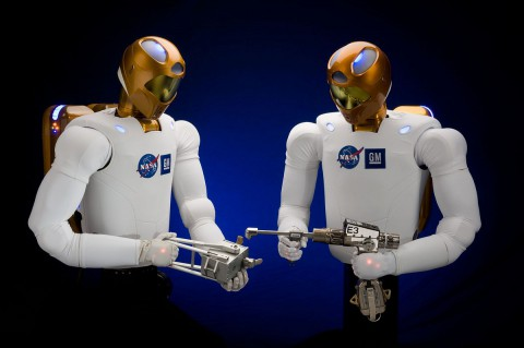robonaut helps NASA's astronauts with their duties at the international space station