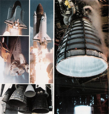 hydrogen is the fuel for NASA's space shuttle main engine. It burns clean and almost invisible. Hydrogen can be produced with solar energy