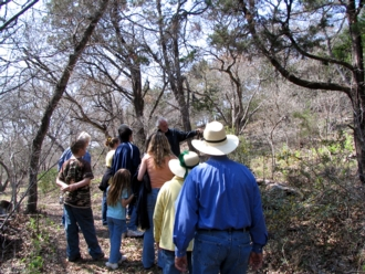 Member and visitor come regularly to Bear Springs blossom Nature Preserve in the Texas Hill Country to attend our annual Spring walk and to walk with us on guided tours in our texas hill country nature preserve