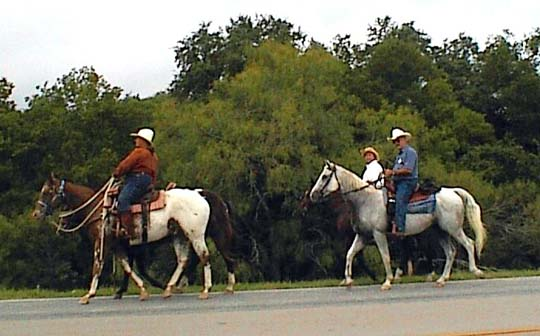Cowboys, horseback riding, nature trails, dude ranches, all found in Bandera Texas